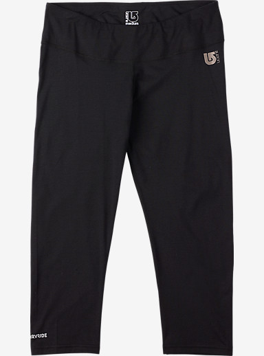 Burton Women's Midweight Capri shown in True Black