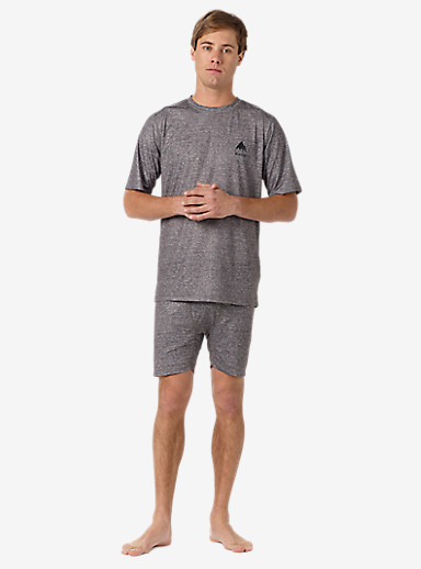 Burton Lightweight Boxer shown in Monument Heather