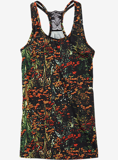 Burton Women's Lightweight Tank shown in Acid Flora