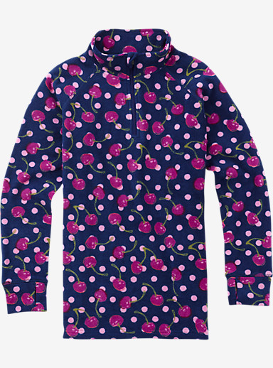Burton Youth Fleece 1/4 Zip shown in Spellbound Tutti Frutti