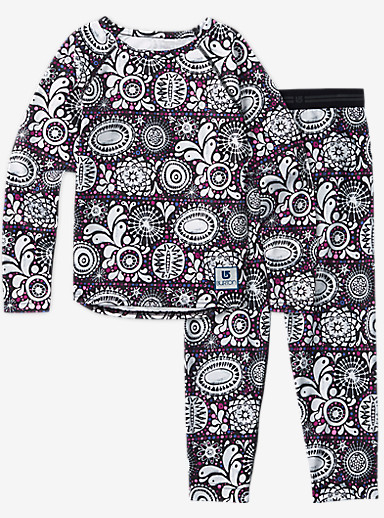 Burton Minishred Lightweight Base Layer Set shown in Sun Doodle