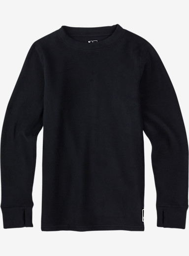 Burton Youth Fleece Set shown in True Black