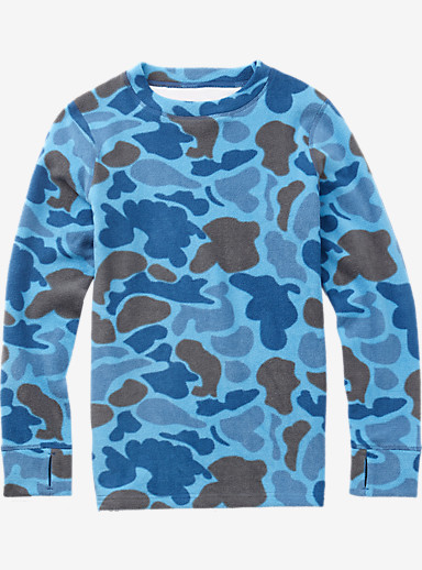 Burton Youth Fleece Set shown in Blue Steel Duck Hunter Camo