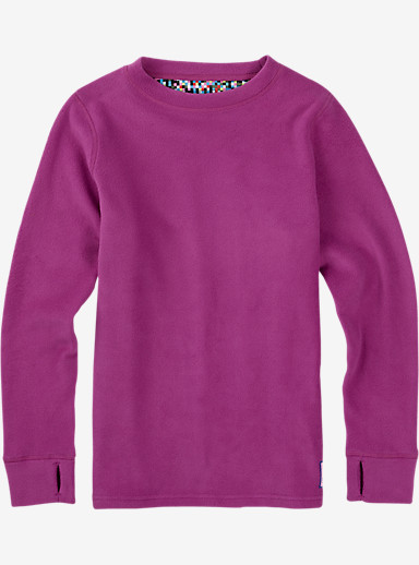 Burton Youth Fleece Set shown in Grapeseed