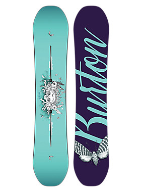 Burton Talent Scout Snowboard shown in 138
