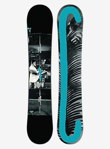 Burton Custom Twin Snowboard shown in 156