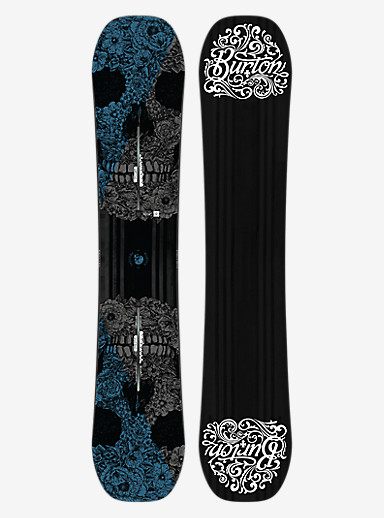 Burton Process Off-Axis Snowboard shown in 152