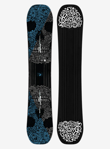 Burton Process Off-Axis Snowboard shown in 155