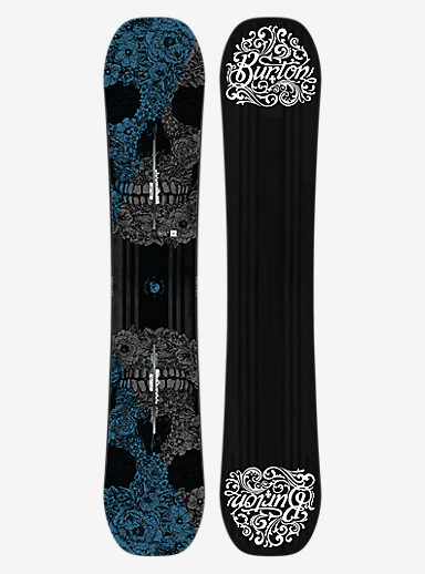 Burton Process Off-Axis Snowboard shown in 157