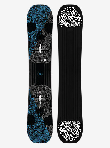 Burton Process Off-Axis Snowboard shown in 159