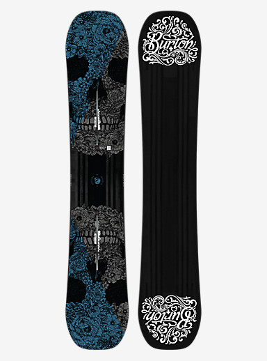 Burton Process Off-Axis Snowboard shown in 162