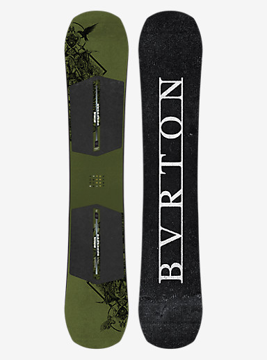 Burton Name Dropper Snowboard shown in 158