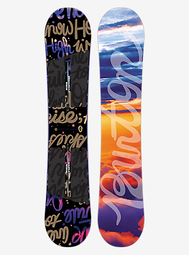 Burton Socialite Snowboard shown in 147