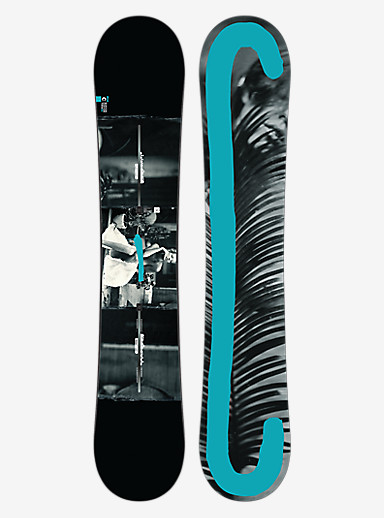 Burton Custom Twin Flying V Snowboard shown in 156