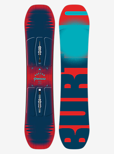 Burton Process Smalls Snowboard shown in 125