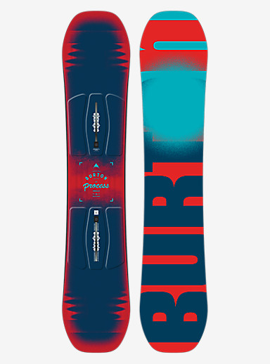Burton Process Smalls Snowboard shown in 138