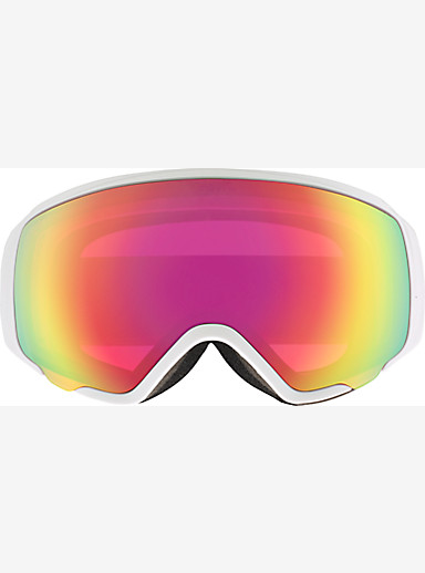 anon. WM1 Goggle shown in Frame: Pearl White, Lens: Pink SQ