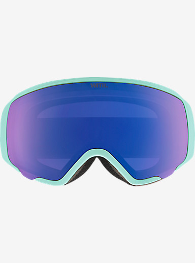 anon. WM1 Goggle shown in Frame: Mint, Lens: Blue Cobalt