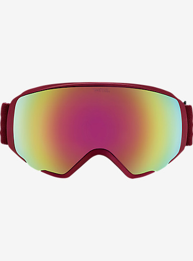 anon. WM1 Goggle shown in Frame: Merlot, Lens: Pink Cobalt