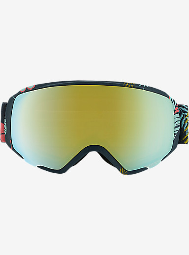 anon. WM1 Goggle shown in Frame: Tiki, Lens: Gold Chrome
