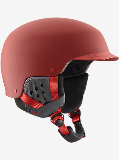 anon. Blitz Helmet shown in Blaze Red