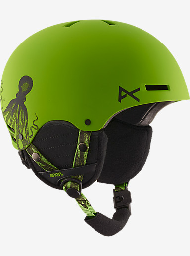 anon. Boys' Rime Helmet shown in Krakken Green