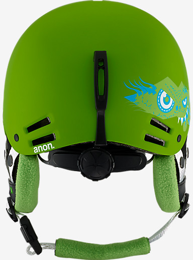 anon. Boys' Rime Helmet shown in Gremlin Green