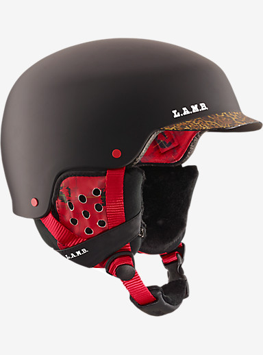 L.A.M.B. anon. Aera Helmet shown in L.A.M.B. Black (A2)
