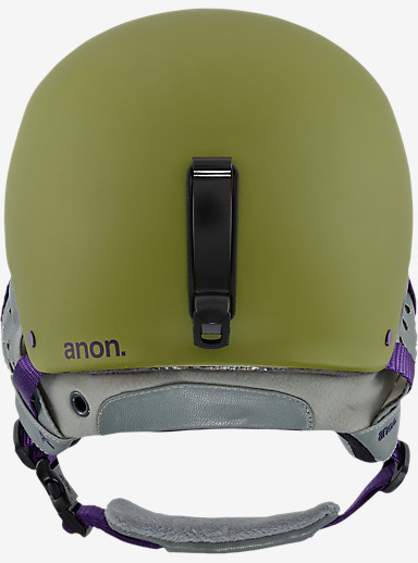 anon. Aera Helmet shown in Pellow Green