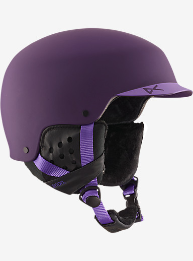 anon. Aera Helmet shown in Imperial Purple