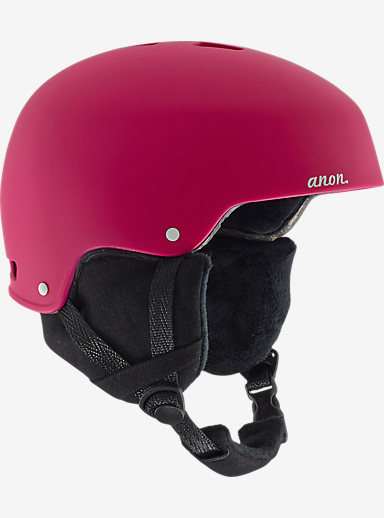 anon. Lynx Helmet shown in Strawberry Red