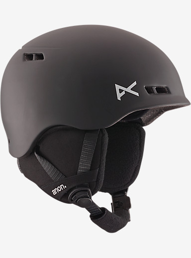anon. Boys' Burner Helmet shown in Black