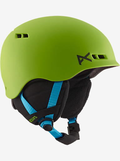 anon. Boys' Burner Helmet shown in Green