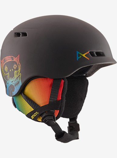anon. Boys' Burner Helmet shown in Techno Color