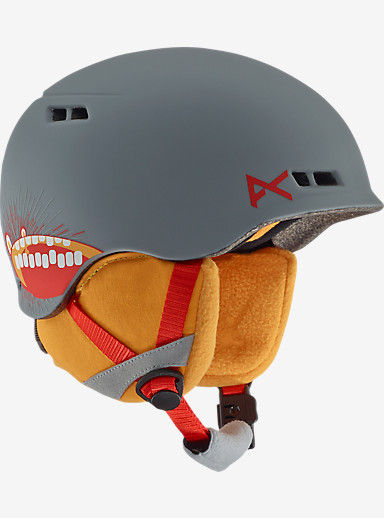 anon. Boys' Burner Helmet shown in Aanon Gray
