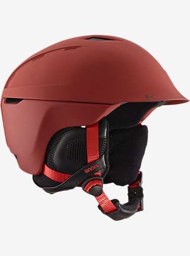 anon. Thompson Helmet shown in Blaze Red