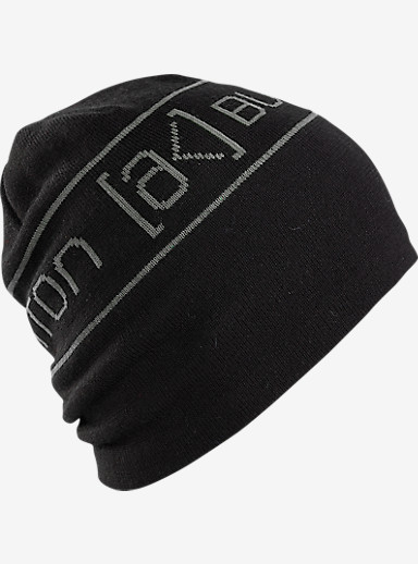 Burton [ak] Tech Beanie shown in True Black