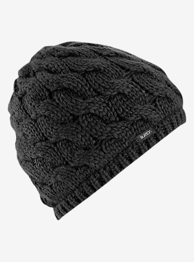 Burton Birdie Beanie shown in True Black