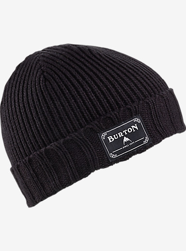 Burton Boys' Gringo Beanie shown in True Black