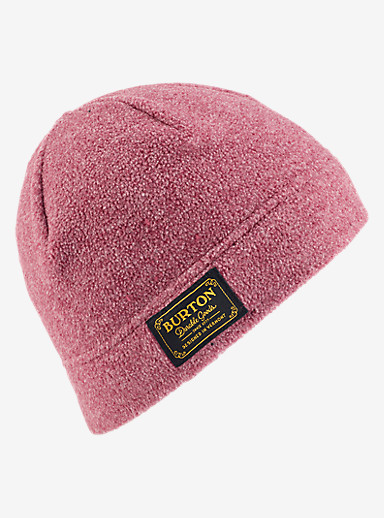 Burton Ember Fleece Beanie shown in Sangria Heather