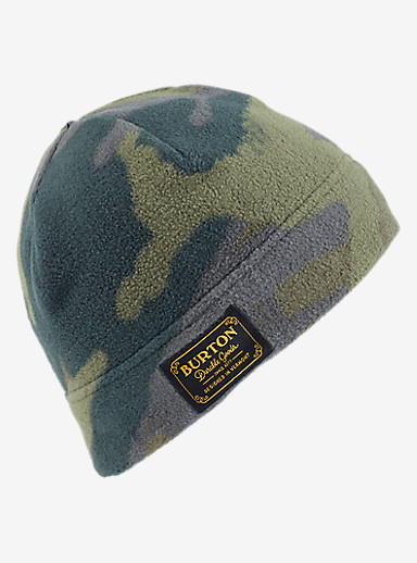 Burton Ember Fleece Beanie shown in Beetle Derby Camo