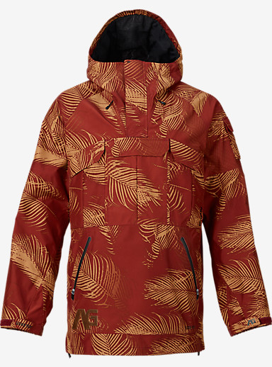 Analog Highmark GORE-TEX® Anorak Jacket shown in Palms Oxblood