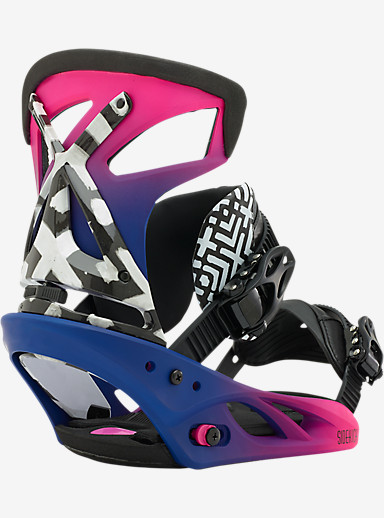 Burton Sidekick Snowboard Binding shown in Smoothie