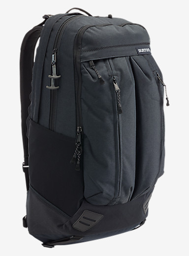 Burton Bravo Backpack shown in True Black Twill