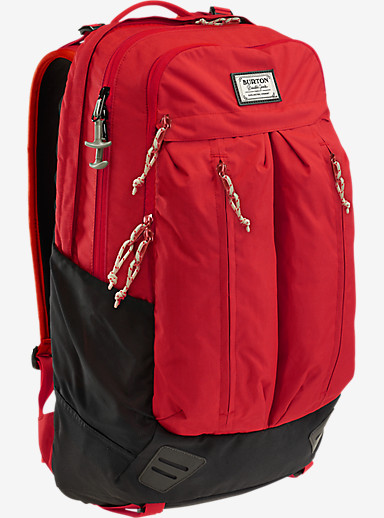 Burton Bravo Backpack shown in Flame Triple Ripstop