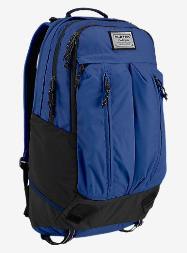 Burton Bravo Backpack shown in True Blue Honeycomb