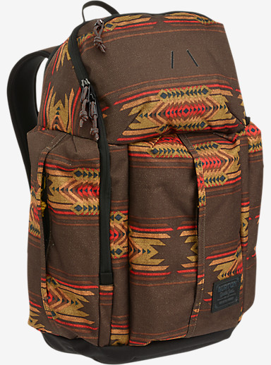 Burton Cadet Backpack shown in Sierra Print