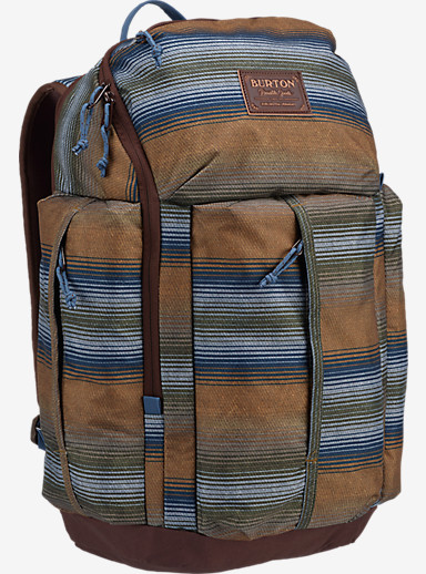 Burton Cadet Backpack shown in Beach Stripe Print