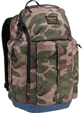 Burton Cadet Backpack shown in Bkamo Print