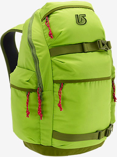 Burton Kilo Backpack shown in Morning Dew Ripstop [Mountain Dew Project]